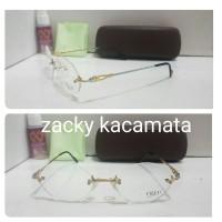 Kacamata frame fred glod silver