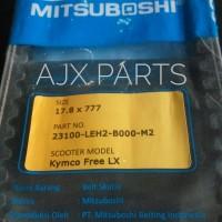 V-Belt Motor Kymco Free LX Merk Mitsuboshi