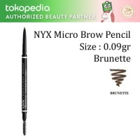 Kuas, Makeup, Bulu mata, NYX Micro Brow Pencil - Brunette - NYX051
