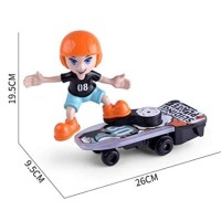 Harga mainan anak sliding plate elektronik skate board toy papan | antitipu.com