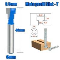 mata profil t slot 9 5mm as 6mm mata router trimmer slot t 3 8 x 1 4