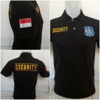 POLO SECURITY / POLO SHIRT SECURITY / KAOS KERAH SECURITY / BAJU SECUR