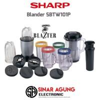 Sharp Blender Blazter Juicer SBTW101P Resmi