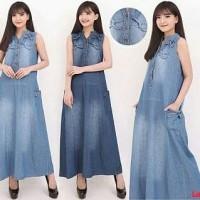 fb7b0be025a Lucita Maxi-Maxi dress jeans jumbo-Maxi dress murah-Maxi jumbo-MRC