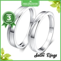 Promo Cincin Kawin Eternity Satin Ring