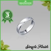 Promo Cincin Kawin Eternity Microset White Gold Ring