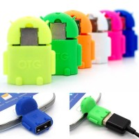 Adapter Micro Usb Hp Android connect untuk ke Flashdisk USB - T.465