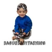 Kostum Bayi Anak Beskap Celana Mudun Lemah Turun Tanah Tedak Siten