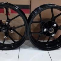 Velg Racing Byson Depan Double Disc - Lebar 17 X 350 Belakang 550 - Ni
