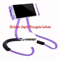 HOLDER LEHER HP HOLDER JEPIT LAZYPOD MODEL JEPIT