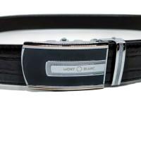 ikat pinggang asli kulit pria MB 833 tali croco model rel