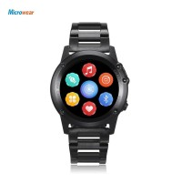 Diskon Microwear H1 1.39 Inch 3G Smartwatch Ponsel Android 4.4 MTK6572