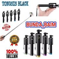 TONGSIS BLACK / TONGSIS HITAM / TONGSIS KABEL / BLACK / TONGKAT SELFIE