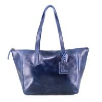 Tote Bag Kulit Premium FSL Navy