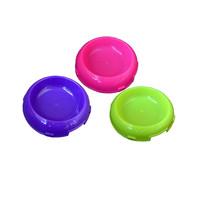 PF101 Cat Dish Round Flat Mix Colour Tempat Makan Kucing Anjing