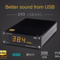 TOPPING D10 Hi-Res USB DAC DSD ES9018K2M (Fiio Shanling Cayin Mojo)