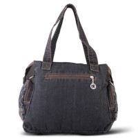 Tas Hand Bag Wanita Cewek Handbag Terbaru Warna Hitam GF 3401 GR