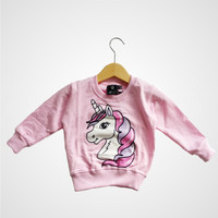 Little Pep Sweater – Pink Pony - sweater anak perempuan