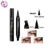 CMAADU EYELINER STAMP 2 IN 1 - Stampel Eyeliner Cepat Kering