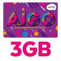Grosir Voucher Aigo Axis 3GB 30 Hari