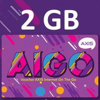 Grosir Voucher Aigo Axis 2GB 30 Hari