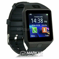 Jam Tangan SmartWatch DZ09 A1 Digital Rubber Strap ORIGINAL