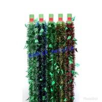 Slinger Natal Besar Cemara / Tinsel / Garlan / Hiasan Natal