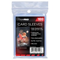 Ultra Pro Soft Card Sleeve (Plastik kartu standard isi 100 / pack)
