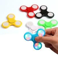 Fidget Spinner Murah / Hand Spinner Dengan Lampu LED