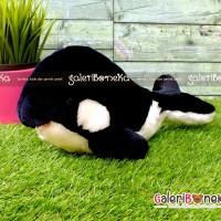 Boneka Orca Cute - Paus Pembunuh ( HK - 608330 )