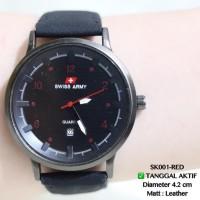 Jam tangan pria PUMA kulit leather tanggal aktif swiss army sport dkny