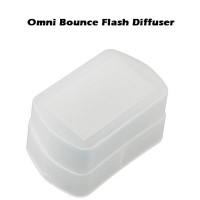 Omnibounce flash diffuser for Canon yongnuo nissin viltrox omni bounce