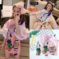 Baju Anak Korea Dress Tazmania