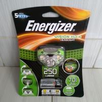 headlamp headlight senter kepala energizer 5 led 250 lumens terbaru