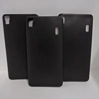 Harga Best Seller Slim Black Matte Case Lenovo A7000 Silicone