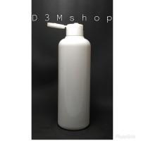 Botol Plastik 250ml Putih Dove Fliptop