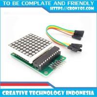 MAX7219 DIP 8x8 Dot Matrix Led Display Module