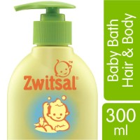 Zwitsal Baby Bath Hair&Body - Pump - 300ml