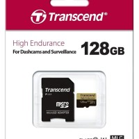 TRANSCEND MICRO SD HIGH ENDURANCE 128GB WITH ADAPTER