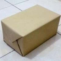 (GOSEND GRAB)kertas coklat 80gr 60x90cm dapat 7 pack (175lembar)