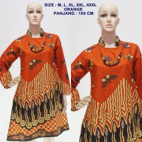 Tunik Batik Galaran Kupu Orange DSC04044