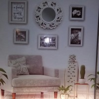Photo Frame With Mirror