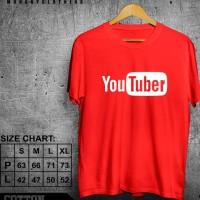 Kaos Merah Cabe Design Youtuber