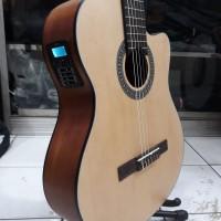 Gitar Klasik Nylon Elektrik Tuner Cowboy CGC-100NA Original