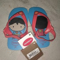 Sandal Havaianas Motif Superman Herous for kids