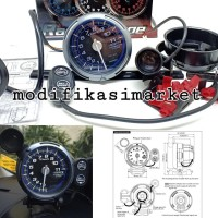Tachometer Takometer Rpm Defi C2 Full Led High Quality Racer Gauge