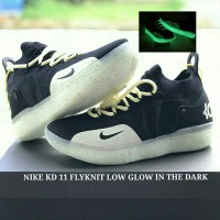 bf27372064cf SEPATU NIKE KD 11 FLYKNIT LOW GLOW IN THE DARK