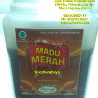 Harga madu merah murni 500 gr gram 500gr mabruk   Pembandingharga.com