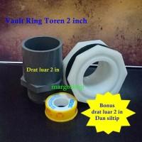 Vault ring tangki air big size 2 inch