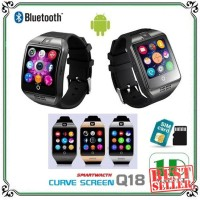 Eksklusif Smartwatch Q18 Support Bluetooth SIM Card dan Micro SD -